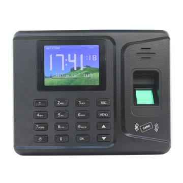 Biometric fingerprint time recorder timer attendance system with free software and SDK