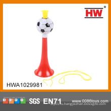 Классическая дешевая пластиковая труба для футбола