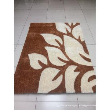 Gute Qualität waschbar Microfaser Shag Teppich