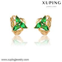 28230-Xuping Jewelry Fashion Diamond Huggie Earrings