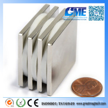 Gme F38.1X38.1X3.175mm Neodym N48 Block Magnet