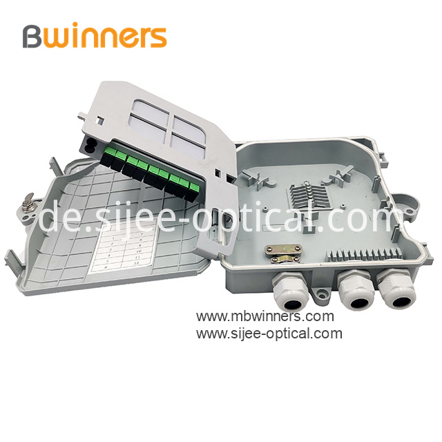 Fiber optic plc splitter box