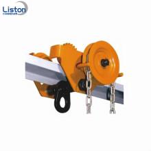 3ton outils de manutention geared matériel plain chariot