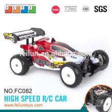 2. 4 G 4CH voitures rc 01:10 haute vitesse proportionnelle numérique voiture contrôle radio avec EN71/ASTM/EN62115/6P R & TTE/EMC/ROHS