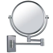 Espejo magnificado de baño montado en la pared de belleza ajustable