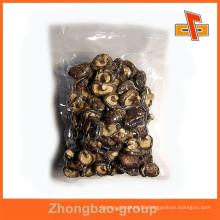 food grade laminated nylon material custom printed vacuum sealed plastic bags for mushroom