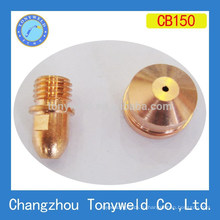 trafimet CB150 воздушно-плазменной резки наконечник и электрод
