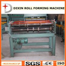 Hoja de metal que forma el rollo que forma la máquina