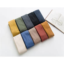 2019 Hot Sale Custom Fashion Striped Cotton Tube Cozy Indoor 100%polyester Plush Fuzzy Microfiber Slumber Women Socks Antislip