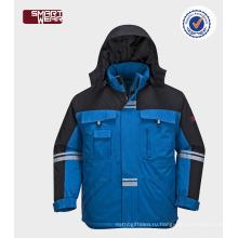 Защита безопасности оптом теплые зимние куртки рабочая одежда