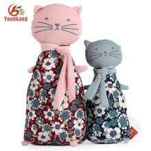 Nueva moda gato de peluche japonés gatos felpa de juguete