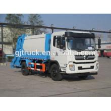 Shacman 4X2 conduire le camion à ordures compact pour 3-10 mètres cubes