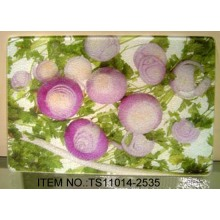 Easy Clean Durability Toughened Glass Chopping Board