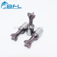 Fresas de fresado Dovetail del CNC del carburo de tungsteno de BFL para el proceso del metal