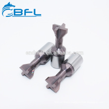 BFL Tungsten Carbide CNC Dovetail Milling Cutters For Metal Processing