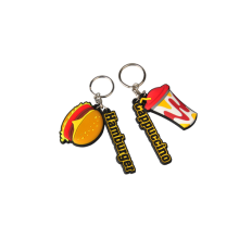 Custom Personalized PVC Rubber Keychain