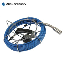 Waterproof Pipe Inspection Camera Sewer Pipe Camera CRV200 with DVR, 20M to 100M Fiberglass cable