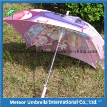 Forme carrée Colorful Folower Printing Kids Umbrella