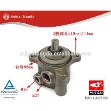 YUCHAI engine YC4E power steering pump E24L1-3407100