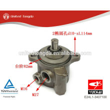YUCHAI двигатель YC4E насос гидроусилителя руля E24L1-3407100