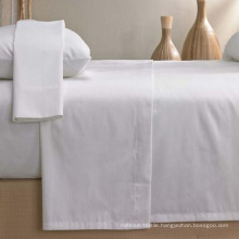 100% Cotton Beige Color Fitted Sheet Bedding Sheet (DPF1055)