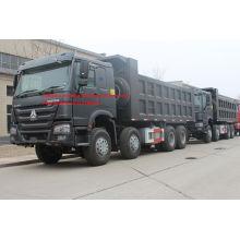 Tipper Dump Truck 371HP 8x4 RHD SINOTRUK HOWO