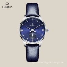 Top Quality Genuine Leather Ladies Watch with Seconds Dial 71031