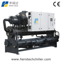 Hotel Central Air Condition Water Cooled Screw Chiller 80*10^4kcal/Hr