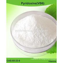 Polvo de piridoxina (VB6), vitamina B6 / CAS 65-23-6 / grado USP / BP / EP