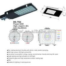 Nouveau design haute puissance LED réverbère 40W
