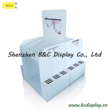 Full Color Printing Mutifunction Cardboard Stand, Pop Display Stand with SGS (B&C-C036)