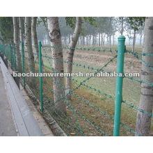 La seguridad de la alta calidad galvanizó el alambre de púas que cercaba con precio razonable en almacén (surtidor)