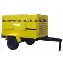 Outdoor Application Construction Diesel Engine Driven Portable Screw Compressor (PUD10-13)