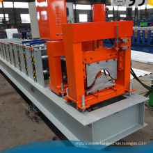 Warehouse ppgi sheet color steel tile roofing ridge cap roll forming machine roll formers