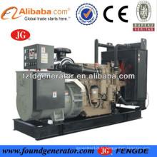 CE approuvé 30-300kw john deere moteur alimenté john deere générateur diesel