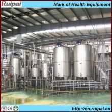 Linha de Produção de Leite Pasteurizada e Condensada