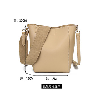 Luxus Long Strap Sling Tote Bucket Bag Günstig