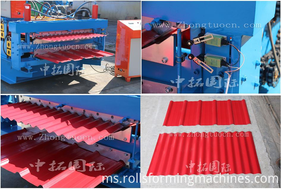 Double Layer Wall Panel Metal Roof Sheet Roll Forming Machine