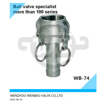"""Acero inoxidable 304 Quick-Joint 1/2 """"a 6"""""""