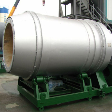 Rotary pulverized coal burner of asphalt plant
