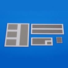 Substrat céramique métallisé électrique
