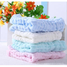 Lenço de algodão de seis camadas bebê recém-nascido toalhas rosto toalha de enfermagem