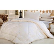 Edredão branca barata de retalhos da folha de cama da fabricação da fábrica
