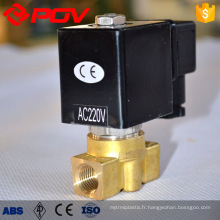 bas prix en laiton forgé micro haute pression électrovanne