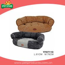 Velvet Fleece Dog camas, camas de estimação quentes (YF87110)