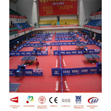 Tennis de table en PVC avec certificat ITTF