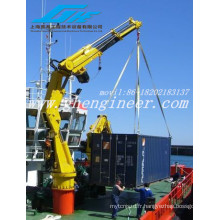 Grue hydraulique télescopique Boom Marine \ grua