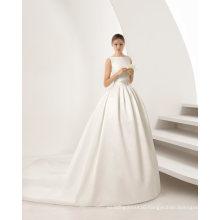 The High-End Satin Wedding Dress