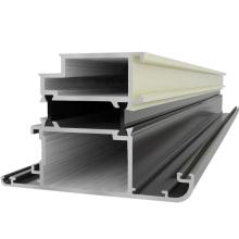 Powder Coating Aluminium Fenster und Türen Bau Aluminium Profil