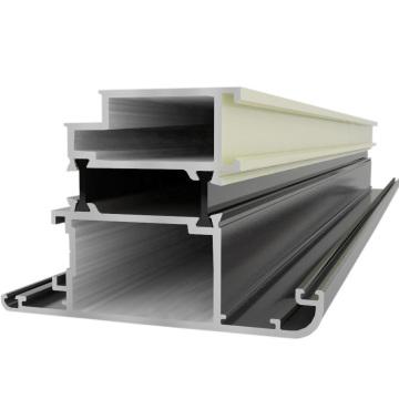 Revestimiento en Polvo Ventanas y Puertas de Aluminio Construcción Aluminio Perfil